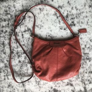 Coach Coral Leather Crossbody